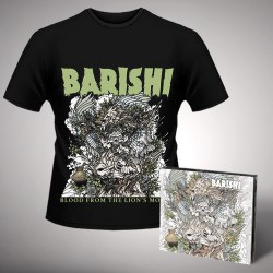 Barishi - Blood From The Lion's Mouth - CD DIGIPAK + T-shirt bundle (Men)