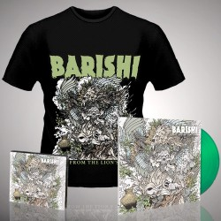 Barishi - Blood From The Lion's Mouth - LP Gatefold Coloured + CD Digipak + T-shirt bundle