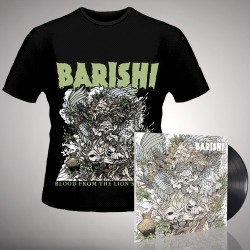 Barishi - Blood From The Lion's Mouth - LP gatefold + T-shirt bundle