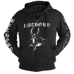 Bathory - Goat - Hooded Sweat Shirt Zip (Men)