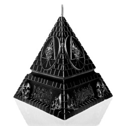 Behemoth - Unholy Trinity Pyramid [black metallic] - CANDLE