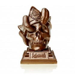 Behemoth - Unholy Trinity Skull [brass] - CANDLE