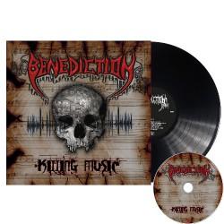 Benediction - Killing Music - LP GATEFOLD + CD