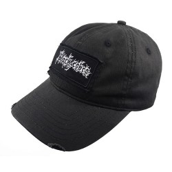 Black Cobra - Logo - DISTRESSED CAP