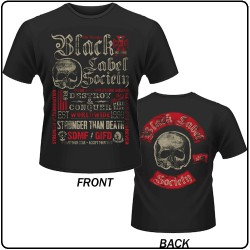 Black Label Society - Destroy & Conquer - T-shirt (Men)