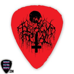 Black & Death - Red Pick - CUSHION