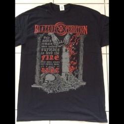 Blaze Of Perdition - Ashes Remain - T-shirt (Men)