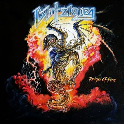 "Blitzkrieg - Reign Of Fire - 7"" vinyl"