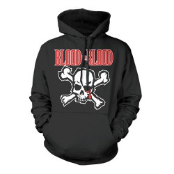 Blood For Blood - Skull - HOODED SWEAT SHIRT