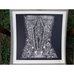 Watain - Total Funeral - Serigraphy