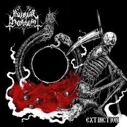 "Burial Hordes - Extinction - 10"" vinyl"