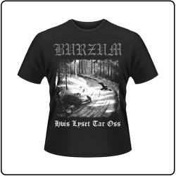 Burzum - Hvis Lyset Tar Oss - T-shirt (Men)