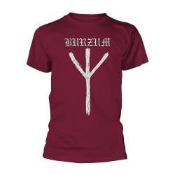 Burzum - Rune (Maroon) - T-shirt (Men)