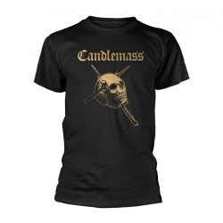 Candlemass - Gold Skull - T-shirt (Men)