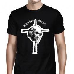 Candlemass - Skull & Cross - T-shirt (Men)