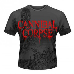 Cannibal Corpse - A Skeletal Domain - T shirt allover