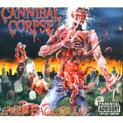 Cannibal Corpse - Eaten Back To Life - CD DIGIPAK