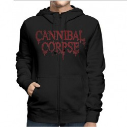 Cannibal Corpse - Red Before Black - Hooded Sweat Shirt Zip (Men)