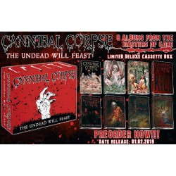 Cannibal Corpse - The Undead Will Feast - 8 TAPES BOXSET