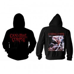 Cannibal Corpse - Tomb Of The Mutilated - Hooded Sweat Shirt Zip (Men)