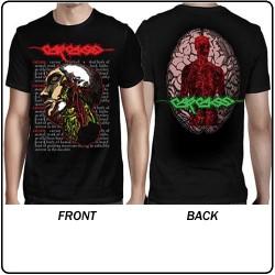 Carcass - Anatomical Head - T-shirt (Men)