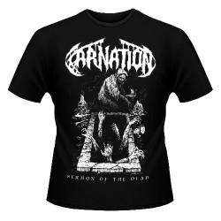 Carnation - Sermon Of The Dead - T-shirt (Men)