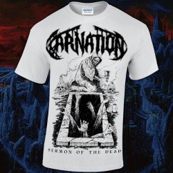 Carnation - Sermon Of The Dead - White - T-shirt (Men)