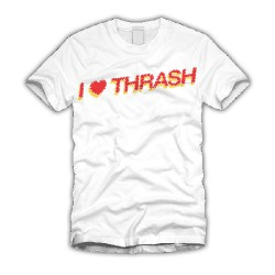 Catch Phrase - I Heart THRASH! White - T-shirt (Men)