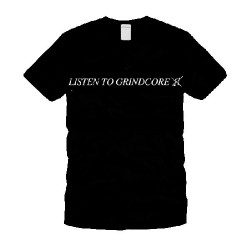 Catch Phrase - Listen To Grindcore - T-shirt (Men)