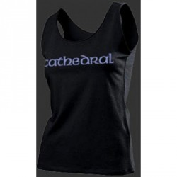 Cathedral - Logo - T Shirt Girly Tank Top