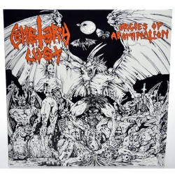 Cemetery Lust - Orgies Of Abomnation - LP COLOURED