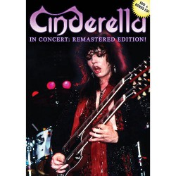 Cinderella - In Concert: Remastered Edition - DVD + CD