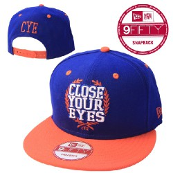 Close Your Eyes - Close Your Eyes (Blue & Orange) - New Era Cap