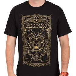 Clutch - All Seeing Owl - T-shirt (Men)
