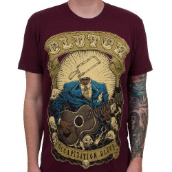 Clutch - Decapitation Blues (Maroon) - T-shirt (Men)