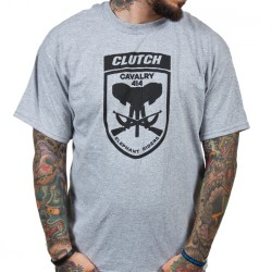 Clutch - Elephant Riders (Heather Grey) - T-shirt (Men)