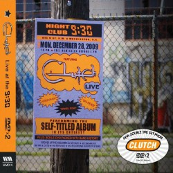 Clutch - Live at the 9:30 - 2DVD DIGIPAK