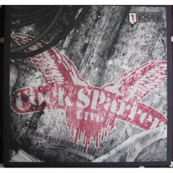 Cock Sparrer - Runnin' Riot Across The USA - DOUBLE LP GATEFOLD COLOURED