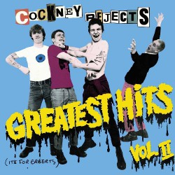 Cockney Rejects - Greatest Hits Vol.2 - DOUBLE LP COLOURED