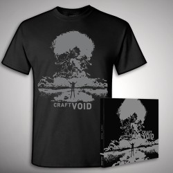 Craft - Void - CD DIGIPAK + T-shirt bundle (Men)