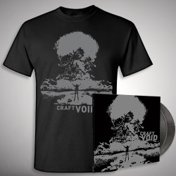 Craft - Void - DOUBLE LP GATEFOLD COLOURED + T-SHIRT bundle (Men)