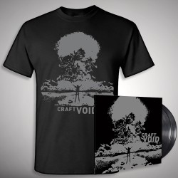 Craft - Void - Double LP gatefold + T-shirt bundle (Men)