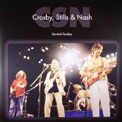 Crosby, Stills & Nash - Survival Sunday - DOUBLE LP Gatefold
