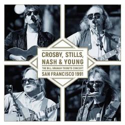 Crosby, Stills, Nash & Young - Bill Graham Tribute - LP