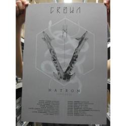 Crown - Natron Tour 2015 - Serigraphy
