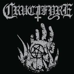 "Crucifyre - Pentagram Palms - 7"" vinyl"