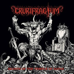 Crurifragium - Beasts Of The Temple Of Satan - CD