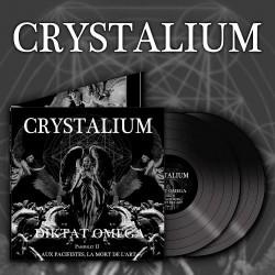 Crystalium - Diktat Omega - DOUBLE LP Gatefold