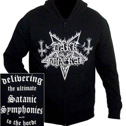 Dark Funeral - Satanic Symphonies - HOODED SWEAT SHIRT (Men)