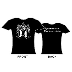 Dark Opus - Ignominious Fundamentals - T shirt girlie